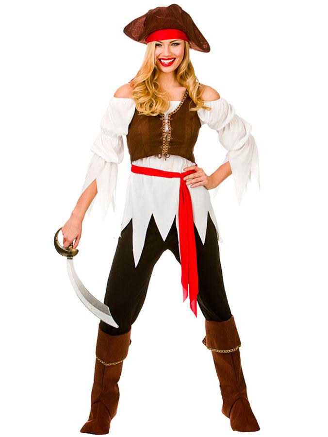 Piratkläder Klä ut sig till pirat | Maskeradprylar.se