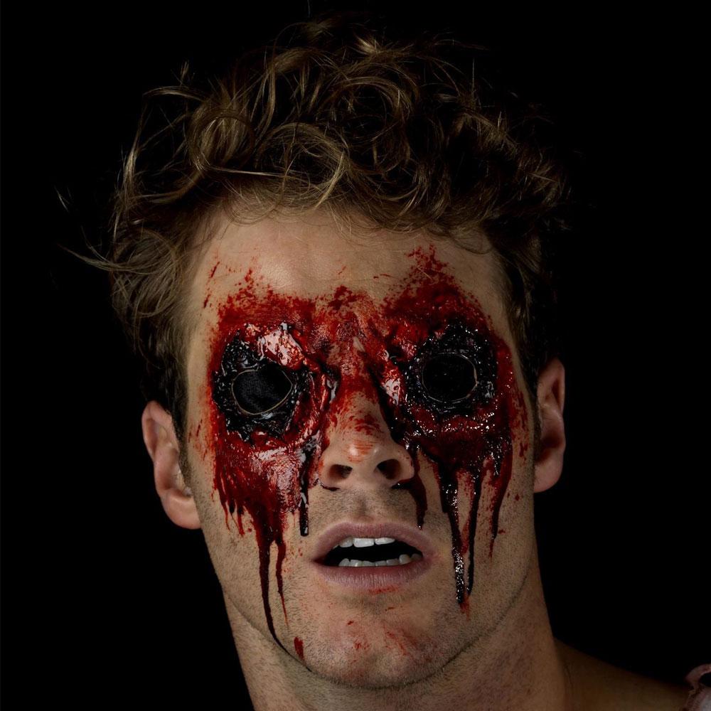 Skadade Ögon Latexsår med Fejkblod