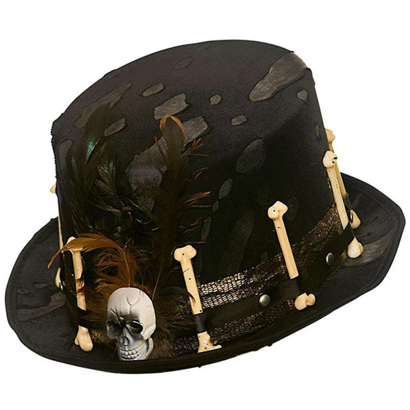 Skelett Hatt Deluxe