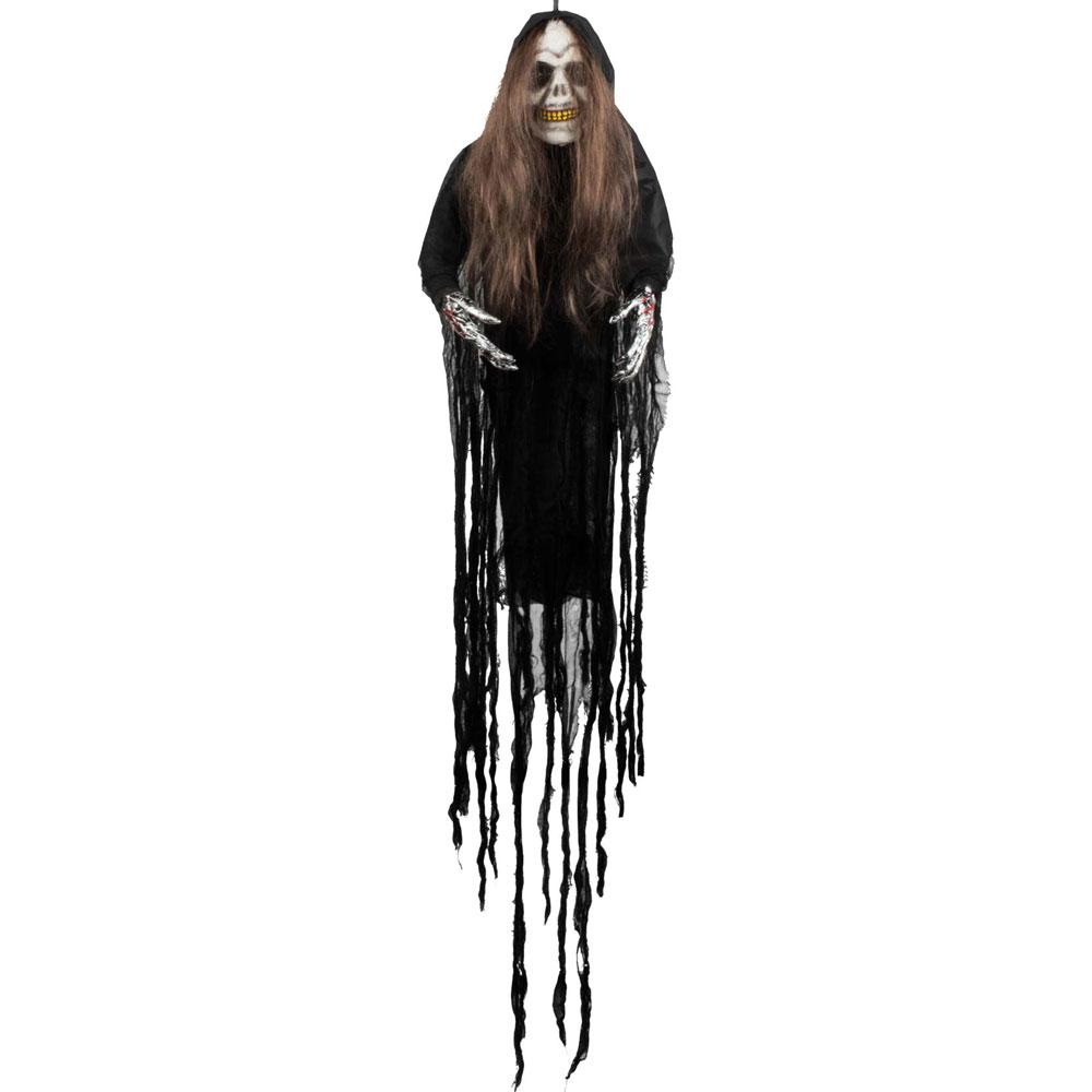 Skelettkvinna Hängande Prop