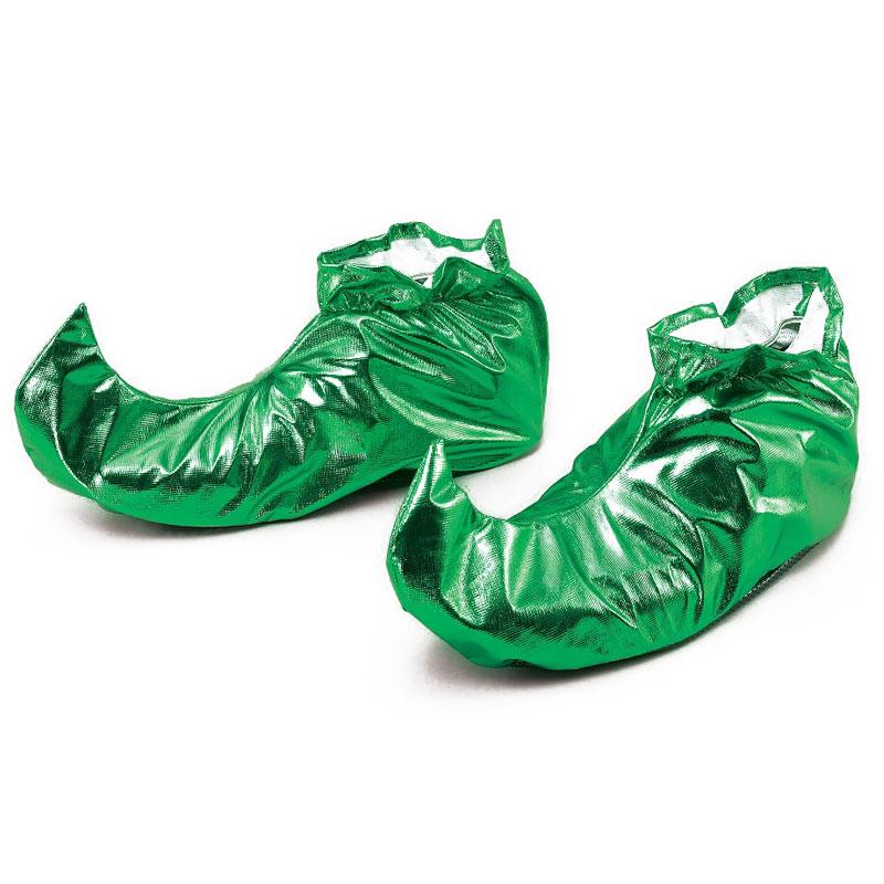 Skoöverdrag Metallic Grön