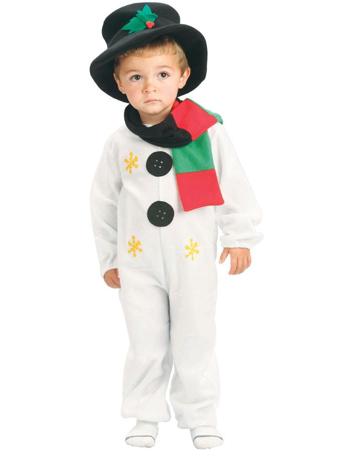Snögubbedräkt med Hatt Barn (Small (3-4 år))