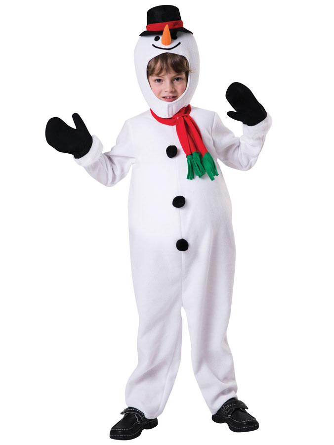 Snögubbedräkt med Stor Mage Barn (Small (3-4 år)) thumbnail