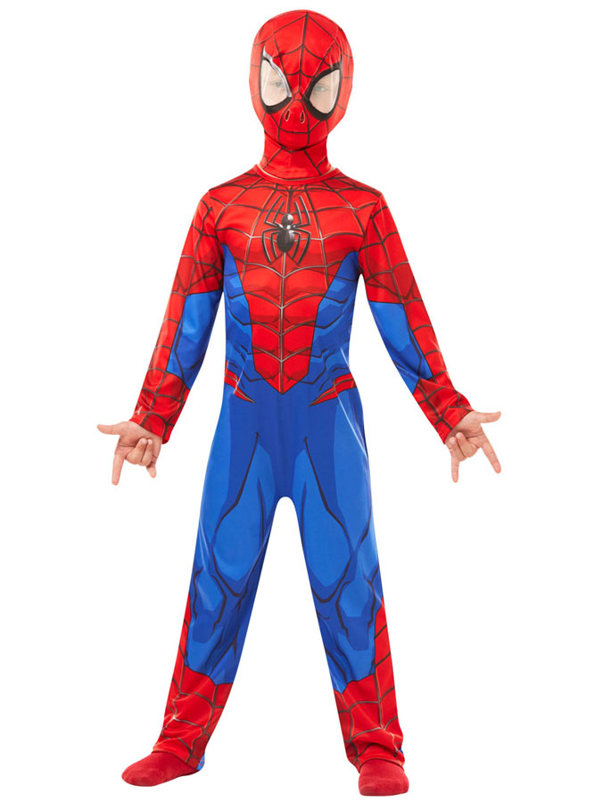 Spiderman Maskeraddräkt Barn (Small (3-4 år))