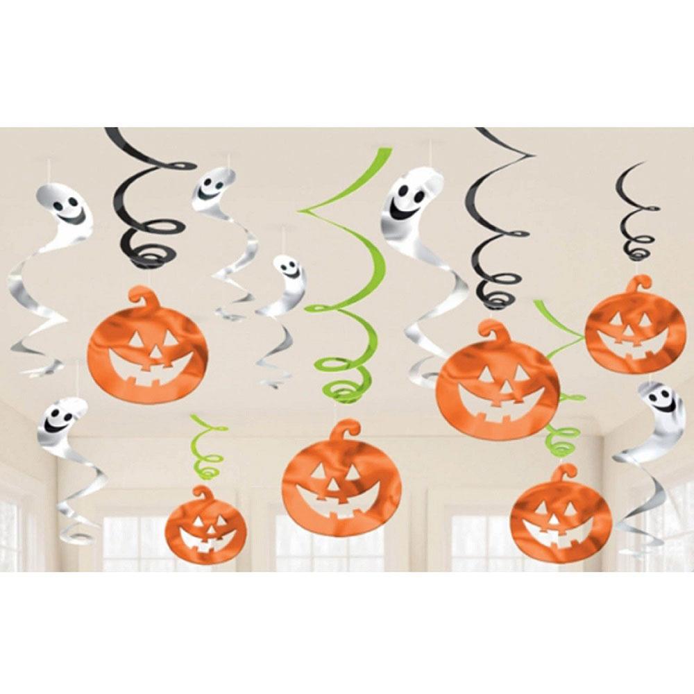 Spöken och Pumpor Hängande Dekoration