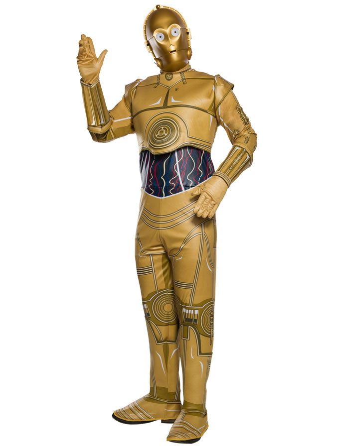 Star Wars C-3PO Maskeraddräkt