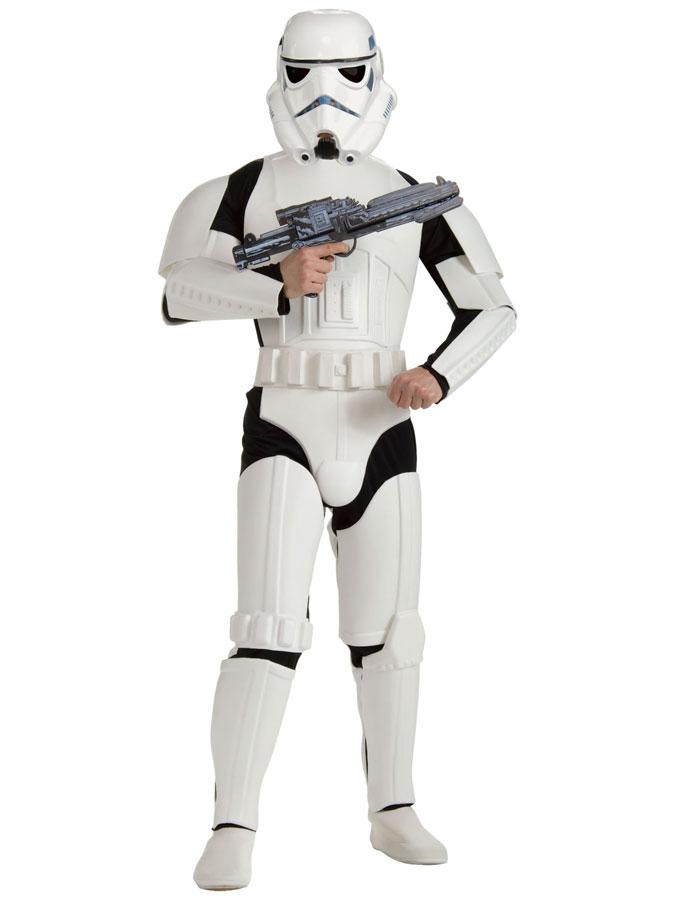 Star Wars Stormtrooper Dräkt Deluxe (Standard)