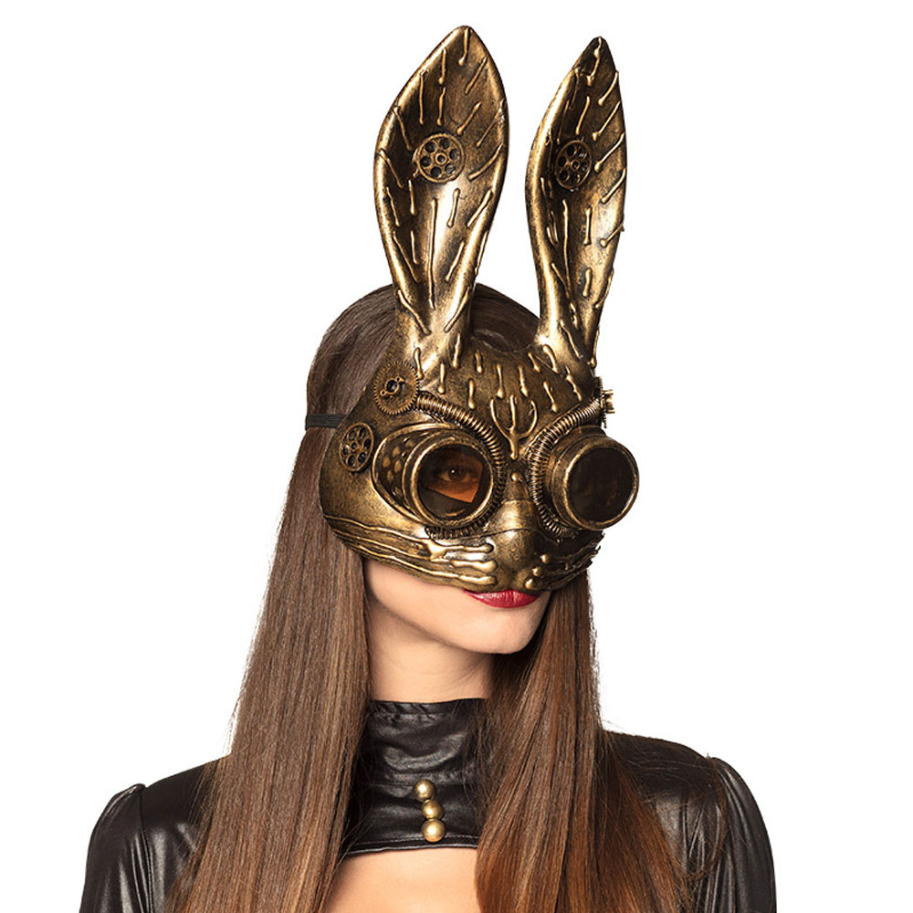Kanin-produkter - Steampunk Kanin Maskeradmask