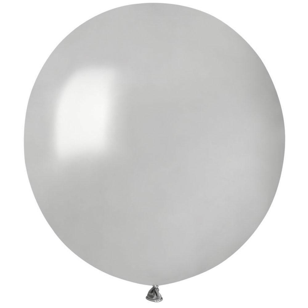 Stora Runda Silver Ballonger (10-pack)