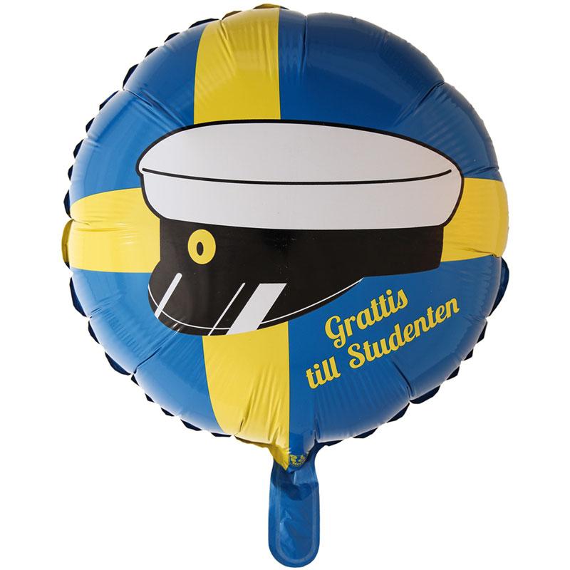Studentballong Folie