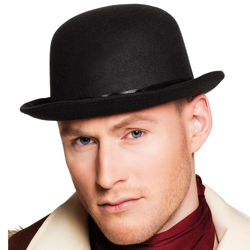 Svart Kubb Hatt