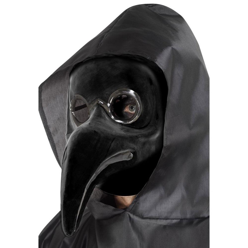 Svart Pestdoktor Mask