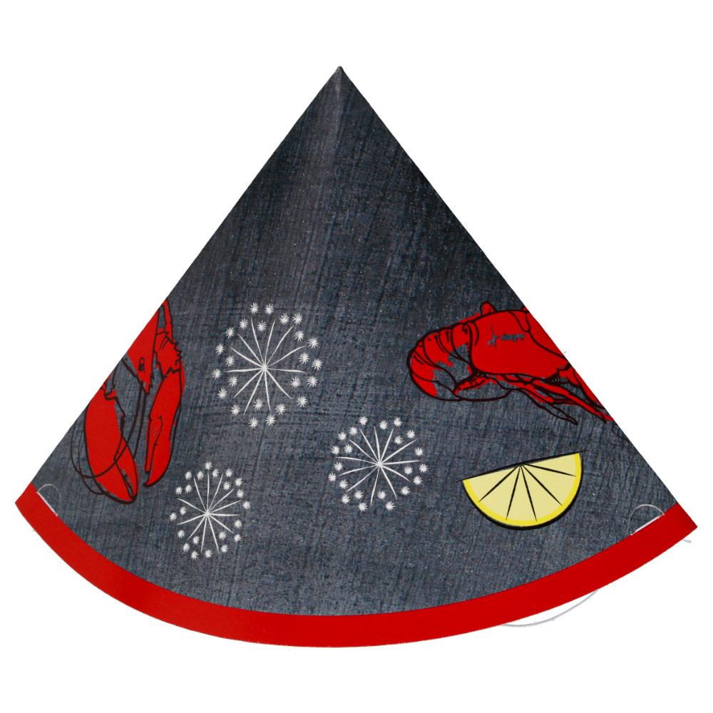 Svarta Kräftskiva Hattar