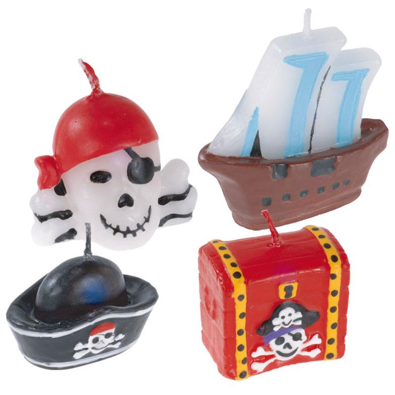 Tårtljus Pirat
