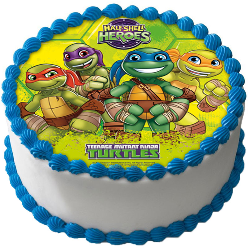 Teenage Mutant Ninja Turtles Tårtoblat A