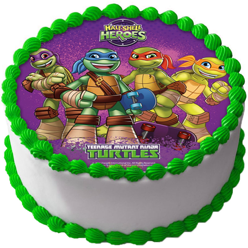 Teenage Mutant Ninja Turtles Tårtoblat C