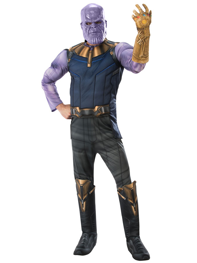 Thanos Maskeraddräkt Deluxe (Standard)