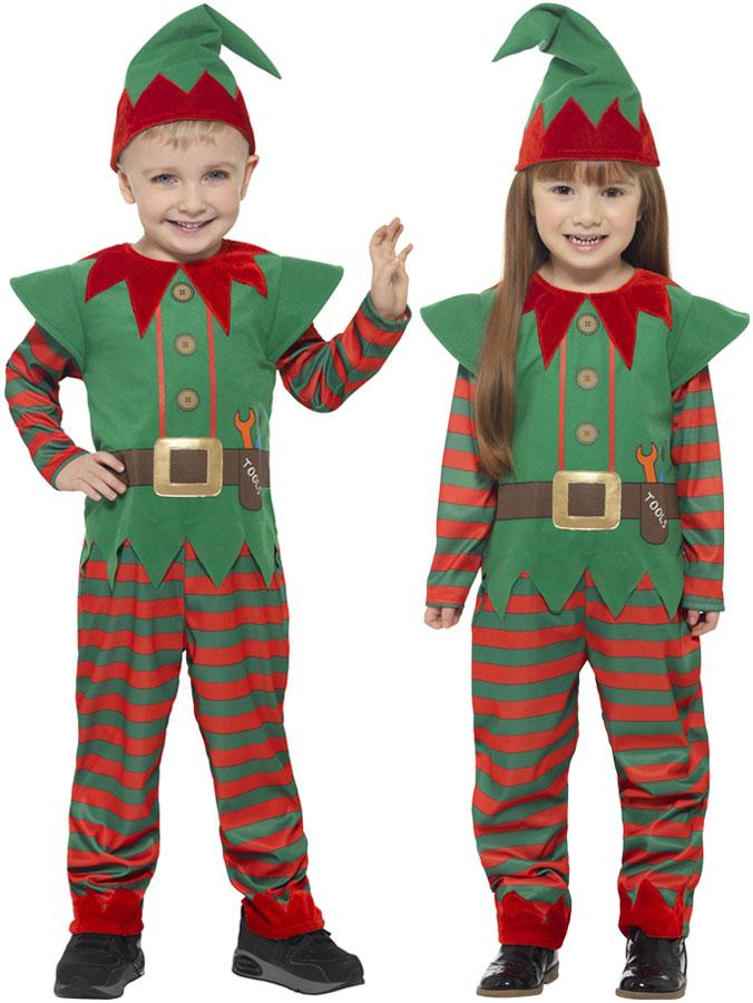 Tomtenisse Maskeraddräkt Barn (T2 (3-4 år))