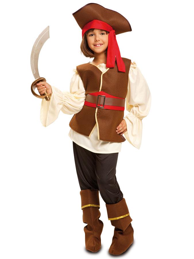Tuff Pirat Maskeraddräkt Barn (3-4 år)