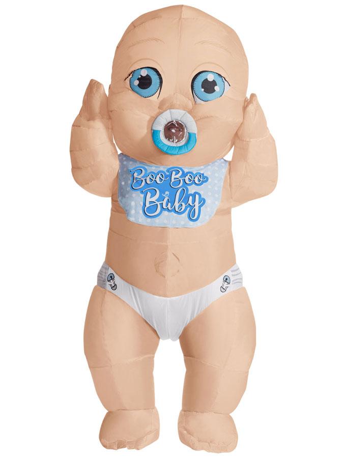 Uppblåsbar Big Baby Pojke Maskeraddräkt