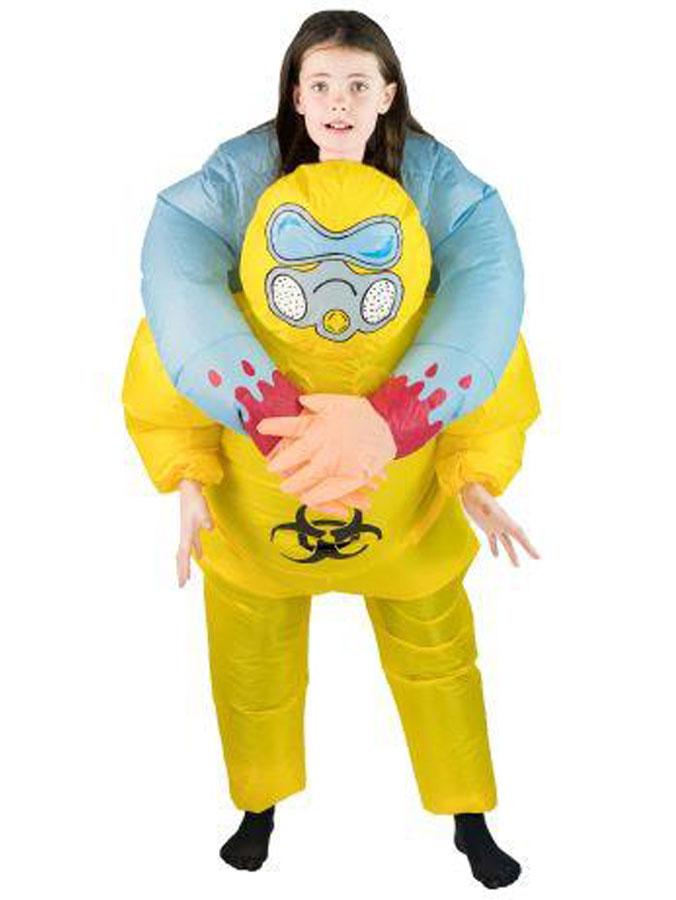 Uppblåsbar Biohazard Maskeraddräkt Barn