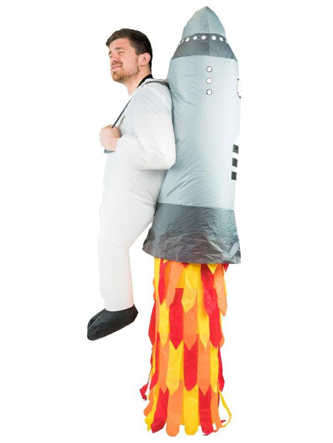 Uppblåsbar Jetpack Dräkt
