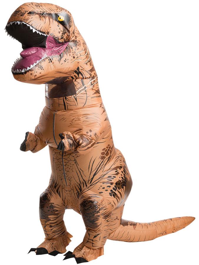 T-Rex dräkter - Uppblåsbar T-Rex Dräkt