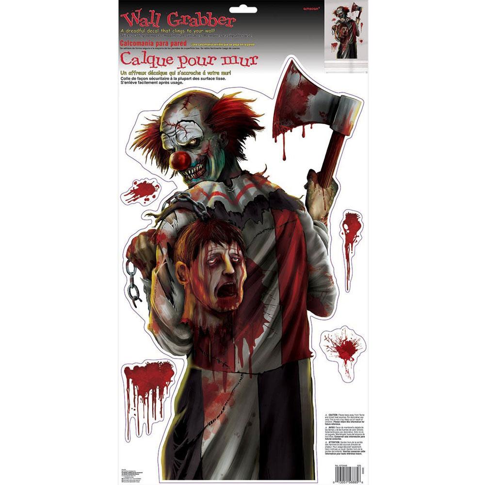 Väggdekoration Evil Clown