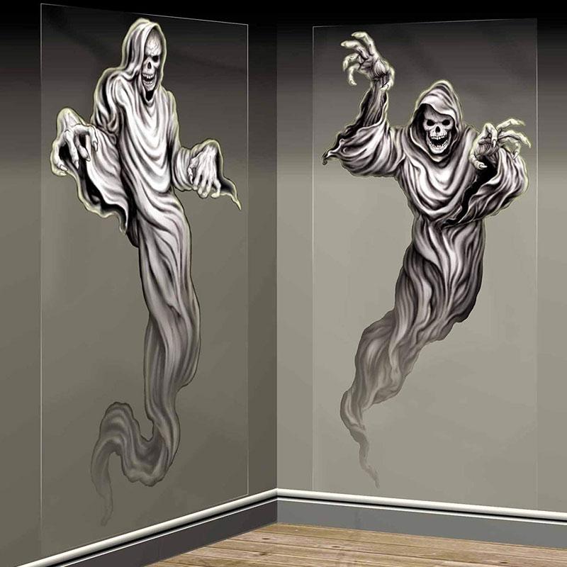 Väggdekorationer Spök Skelett