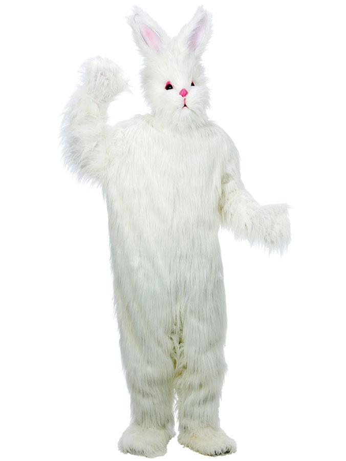 Vit Kanin Maskeraddräkt Deluxe