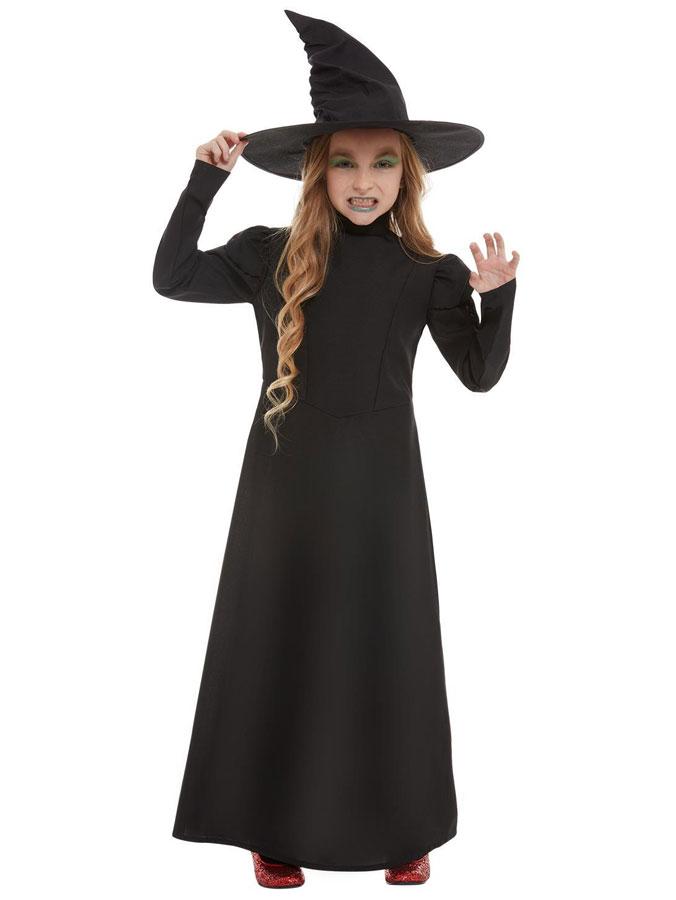 Wicked Witch Maskeraddräkt Barn (Small 4-6 år)