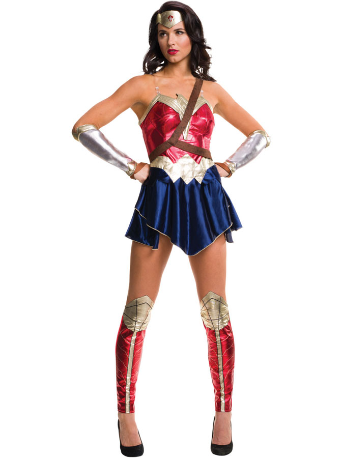 Wonder Woman Dräkt (X-Small (str. 38))