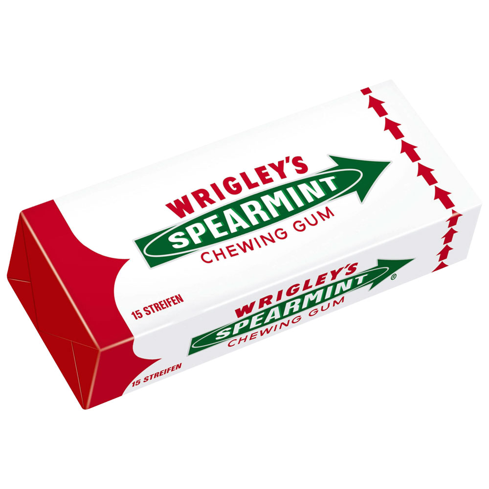 Wrigleys Spearmint Tuggummi (1-pack)