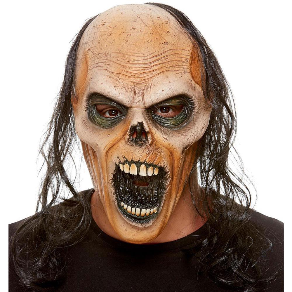 Zombie Åldrad Latex Mask