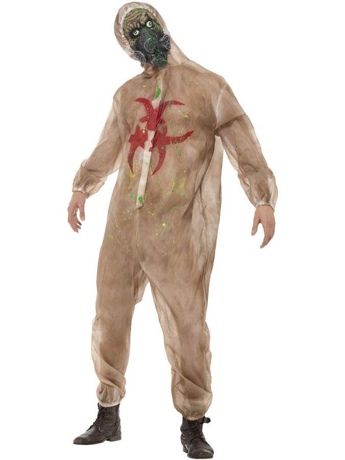 Zombie Dräkt Biohazard (Medium)